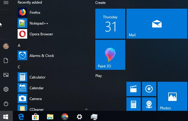 Fix Start Menu Tile Database is Corrupt in Windows 10 v1803