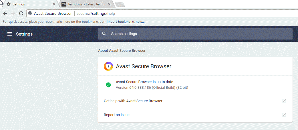 how to stop avast browser