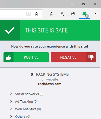 avast online security warning