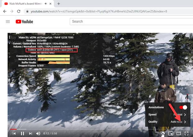 How to Play AV1 Videos on YouTube in Chrome 70, Firefox