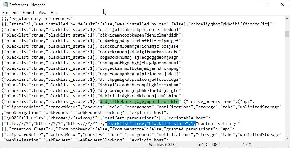 google chrome flagged idm integration as malicious