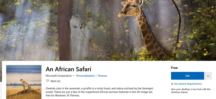 Microsoft releases African Safari, Smiling Creatures and Pi