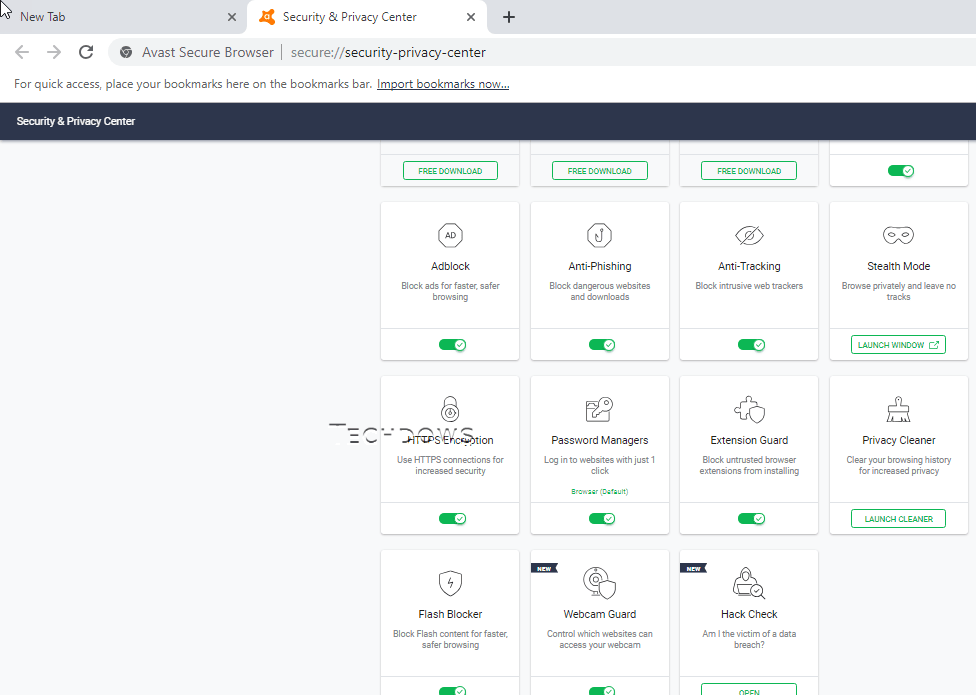 Avast extensions blocked | Update on Malware Blocked issue with