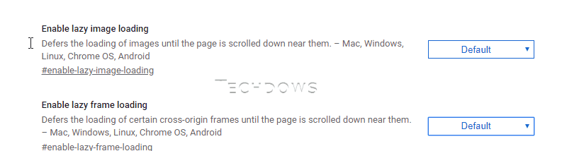 Chrome 75 to lazily load images and iframes