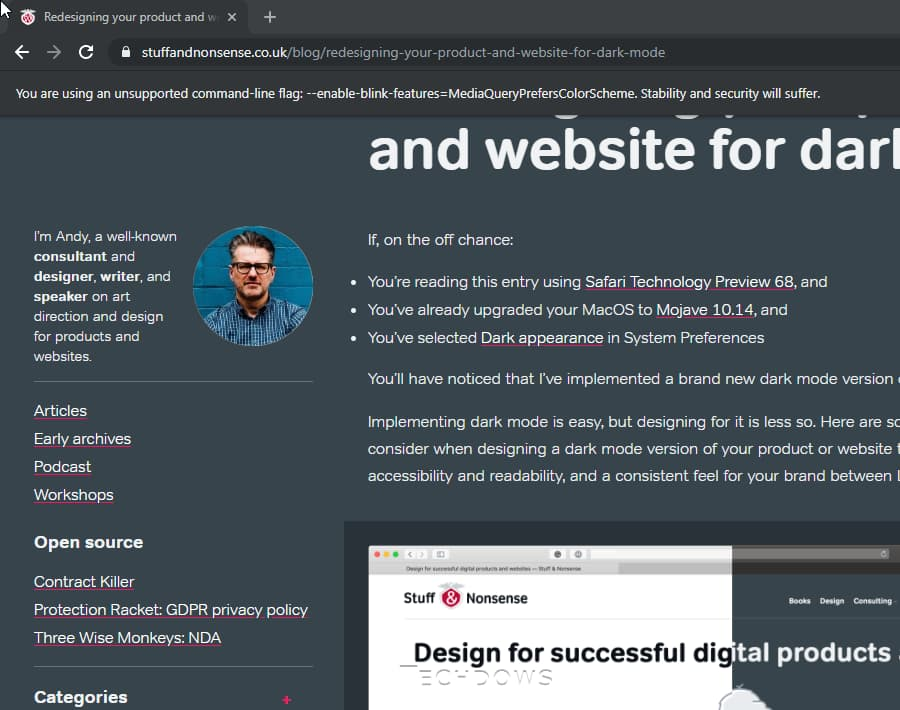 Pleasant Chrome 76 And Firefox 67 To Support Dark Theme For Websites Home Remodeling Inspirations Cosmcuboardxyz