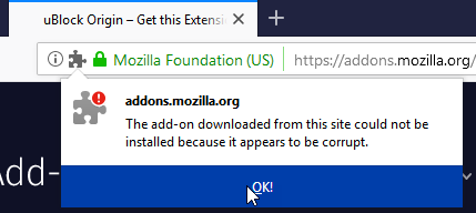 Intermediate signing certificate expiry causes All Firefox