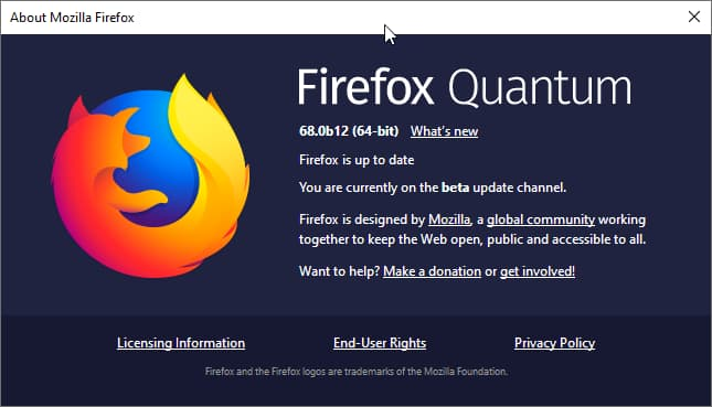 Mozilla to use BITS and a Background Update Agent to update