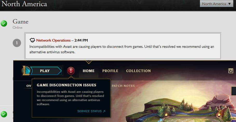 Latest Avast beta addresses anti-cheat issues with League of Legends