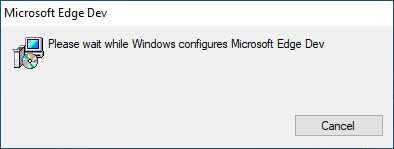Download Microsoft Chromium Edge Dev build Offline Installer