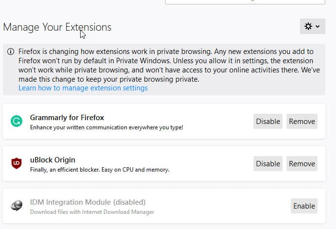 Mozilla promises to improve Firefox Add-ons Manager UI after