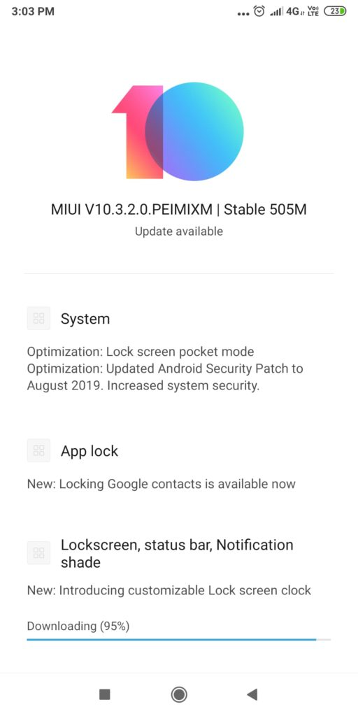 Redmi Note 5 Pro gets Android-Pie based MIUI 10 3 2 0 Update