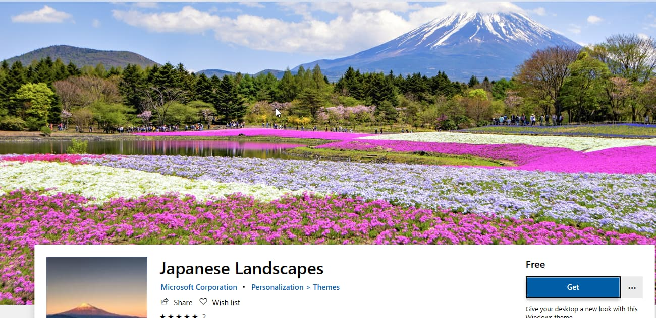 Microsoft Releases Japanese Landscapes Wallpaper Pack For